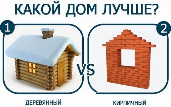 Из какого материала дом лучше?