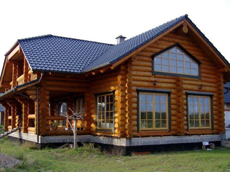 Дом из кругляка
