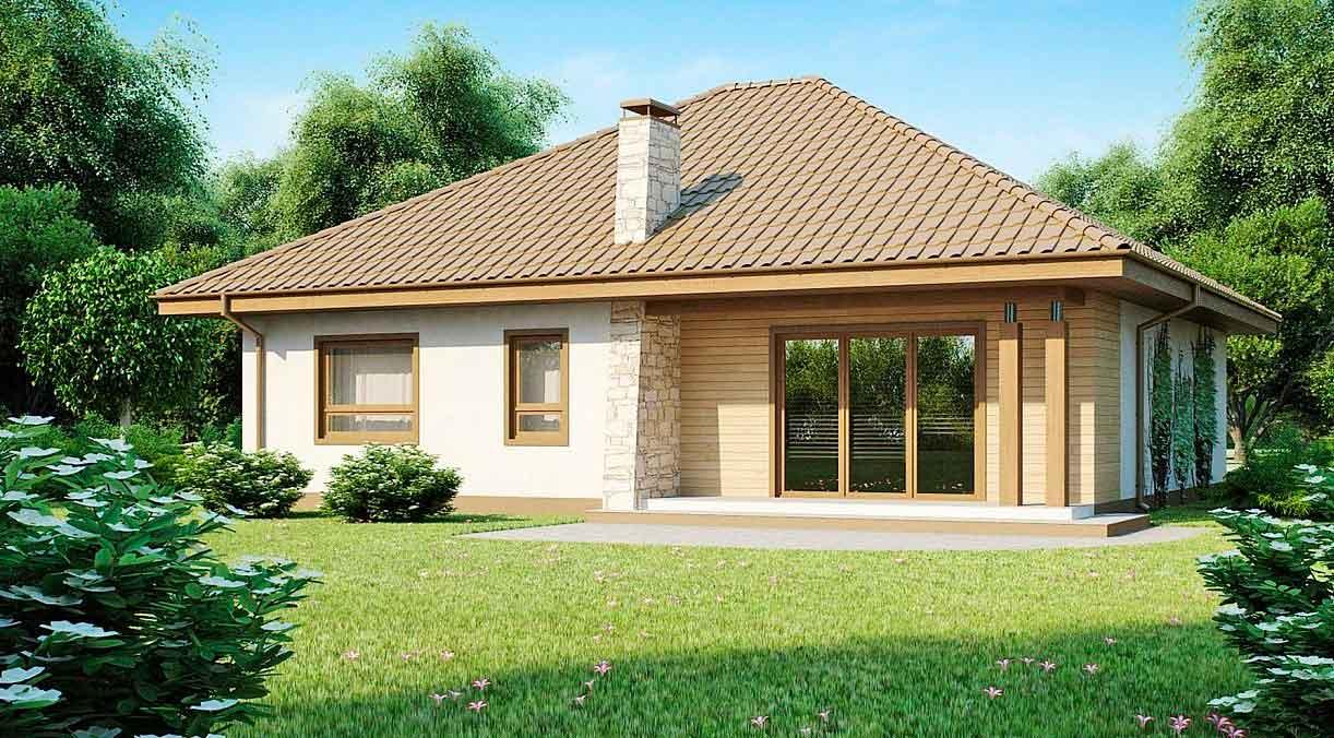 Проект дома из газобетона №5 (141,9 м²)