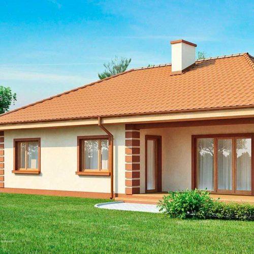 Проект дома из газобетона №7 (186 м²)