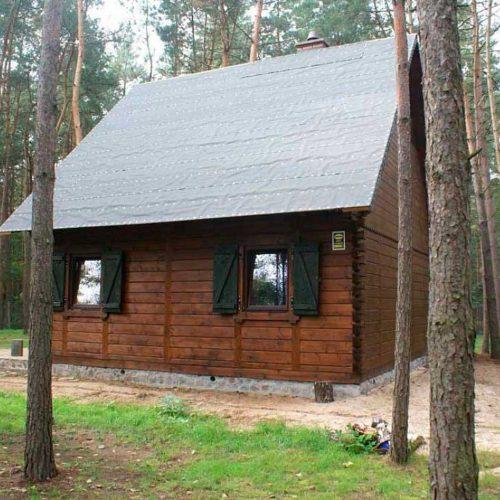 Проект дома из бруса №1 (81,6 м²)