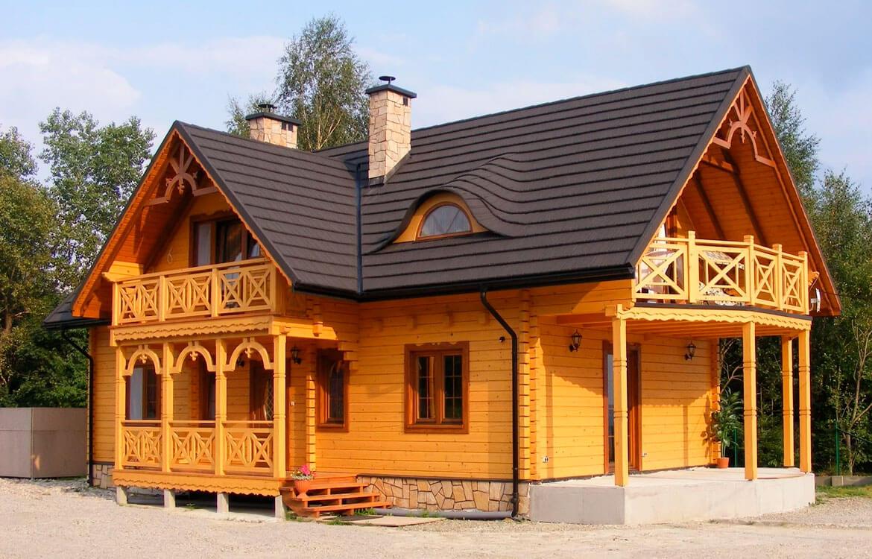 Дом из дерева обшитый вагонкой