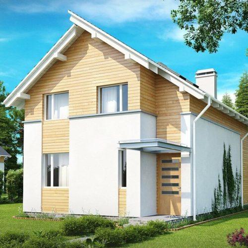 Проект каркасного дома №6 (126,4 м²)