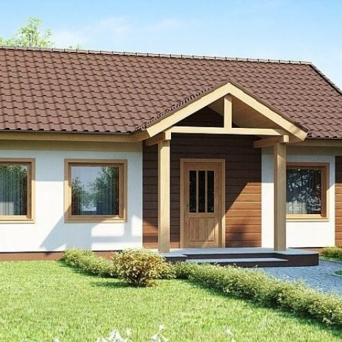 Проект каркасного дома №7 (92,4 м²)